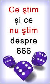 Ce stim si ce nu stim despre 666