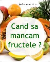 cand sa mancam fructele
