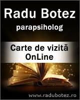 RADU BOTEZ - parapsiholog - Carte de Vizita OnLine