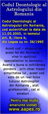 Codul Deontologic al Astrologului din Romania