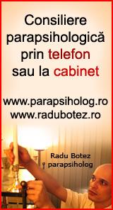 Consiliere parapsihologica prin telefon sau la cabinet